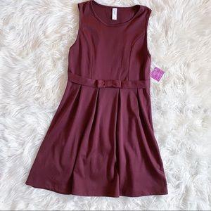 Aryeh Serenity Oxblood Sleeveless Dress NWT